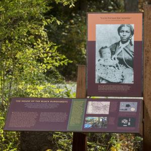 W.E.B. Du Bois Homesite sign in Great Barrington