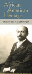 W.E.B. Du Bois in Great Barrington - brochure cover